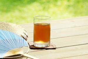 暑い夏と麦茶
